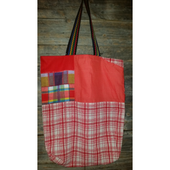 Sac emplette rouge
